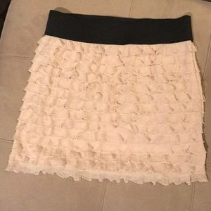 Free people ruffled skirt